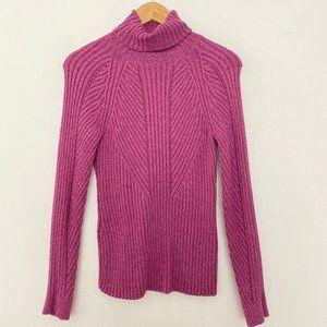 Sundance Catalog Small Knit Turtleneck Silk Blend
